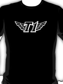 SKT T1 white huge logo T-Shirt