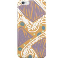 Filled with Scribbles iPhone Case/Skin