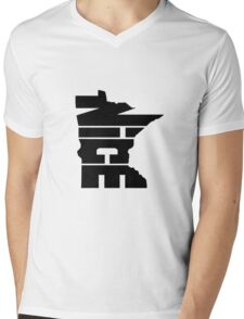 Minnesota Nice Mens V-Neck T-Shirt