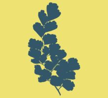 Maidenhair Fern (Blue) by RoamngNaturalst