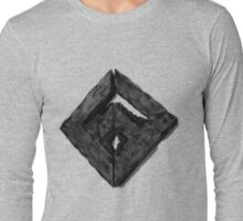 Custom Gaming Logo 3D Long Sleeve T-Shirt