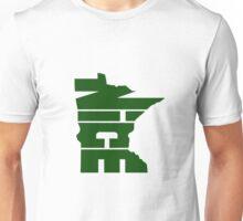 Minnesota Nice Forest Green Unisex T-Shirt