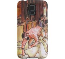 Art Giraffe- Shearing The Rams Samsung Galaxy Case/Skin