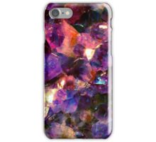 Magic gems dreamy purple iPhone Case/Skin