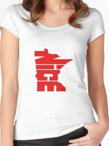 Minnesota Nice Women's Fitted Scoop T-Shirt