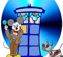 Disney Doctor Who by Skree