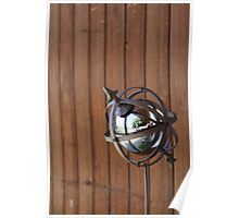 Wrought iron sphere Poster