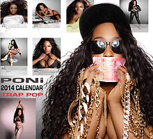 Poni 2014 Calendar Back Cover by marshaponi