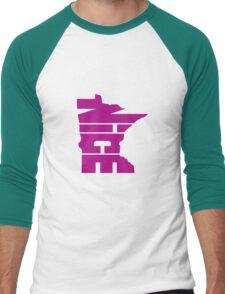 Minnesota Nice Men's Baseball ¾ T-Shirt