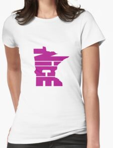 Minnesota Nice Womens Fitted T-Shirt