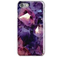 Purple Gem photography iPhone Case/Skin