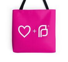 I ♡ Planned Parenthood wp Tote Bag