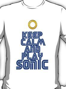 Sega Sonic Tshirt  T-Shirt