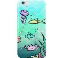 Pastel underwater case iPhone Case/Skin