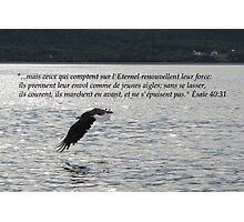Es. 40:31 fr2 Photographic Print