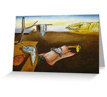 Art Giraffe- The Persistence of Memory Greeting Card