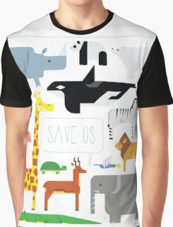 Save Us Graphic T-Shirt