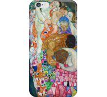 Gustav Klimt - Death and Life iPhone Case/Skin