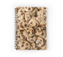 IN COOKIES WE TRUST Spiral Notebook