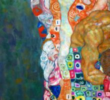 Gustav Klimt - Death and Life Sticker
