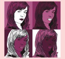 Gwen Copper in Warhol Monochrome Kids Tee