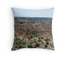 Palo Duro Canyon Part 2 Throw Pillow