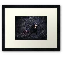 The Evil Queen - Once Upon a Time Framed Print