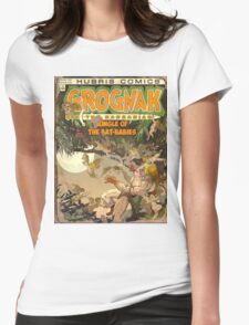 Fallout 4 - In Game Comic Cover Womens Fitted T-Shirt