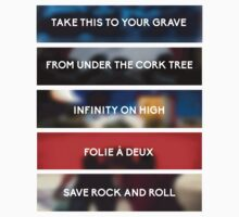 Fall Out Boy Discography by crash landing