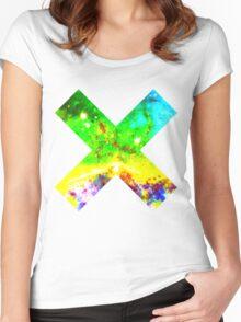 Universal Tye Dye | Galaxy Mathematix Women's Fitted Scoop T-Shirt