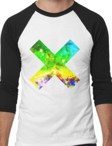 Universal Tye Dye | Galaxy Mathematix Men's Baseball ¾ T-Shirt