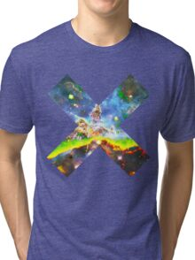 Expanse of God's Universe | Galaxy Mathematix Tri-blend T-Shirt