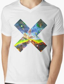 Expanse of God's Universe | Galaxy Mathematix Mens V-Neck T-Shirt