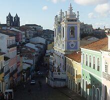 Pelourinho Salvador, Bahia,razil  by Ginga & Helen Dos Santos
