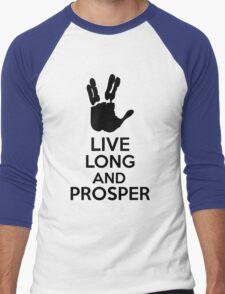 Live Long And Prosper Men's Baseball ¾ T-Shirt