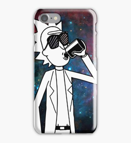 Rick Sanchez: Space Drunk  iPhone Case/Skin