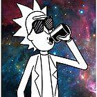 Rick Sanchez: Space Drunk  by ThatGuyScout