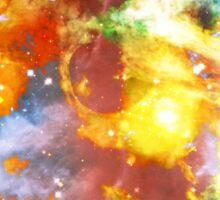The Raw Universal Power   Carina Nebula XX Mathematix Sticker