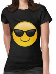 Cool Emoji Womens Fitted T-Shirt