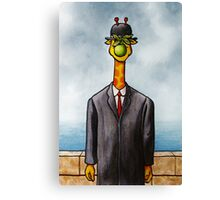 Art Giraffe- The Son of Man Canvas Print