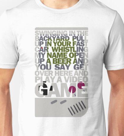 LANA DEL REY VIDEO GAMES LYRIC Unisex T-Shirt