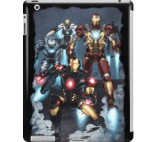 "Iron Man ""Landing"" Superhero Scene by Dheeraj Verma iPad Case/Skin"