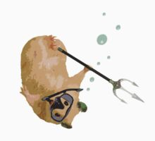 Just Your Average Snorkeling Hamster With A Trident by SliceOfBrain