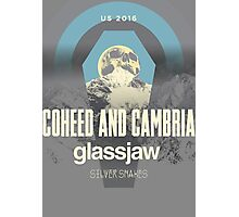 coheed and cambria color before the sun Tour 2016 RP01 Photographic Print