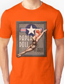 """""""Paper Doll"""" WWII Nose Art T-Shirt"""