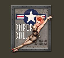 """Paper Doll"" WWII Nose Art Unisex T-Shirt"