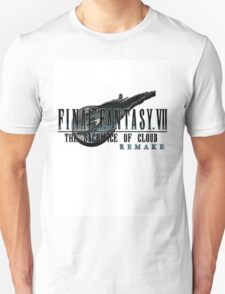 FINAL FANTASY VII: THE SACRIFICE OF CLOUD REMAKE logo T-Shirt
