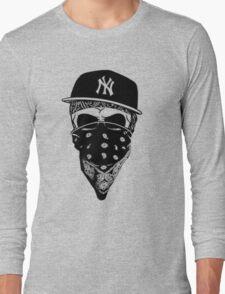 Gangsta Skull Long Sleeve T-Shirt