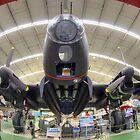 Avro Lancaster Mk. VII NX 622 by Peter Whitworth