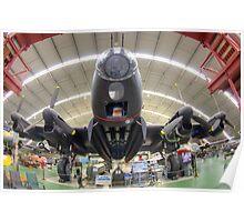 Avro Lancaster Mk. VII NX 622 Poster